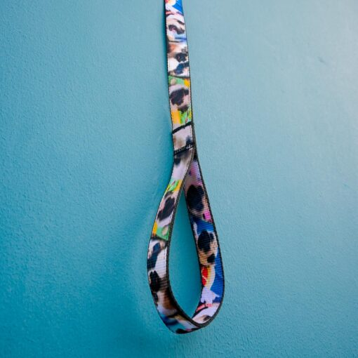Customized Dog Leash with Pet Pictures Printed On It